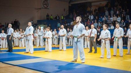 Kyokushin Karate Tournament Fight. Kyokushin Belgrade Trophy 201