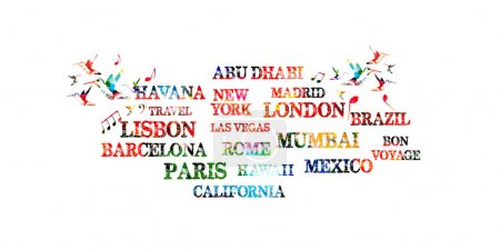 Touristic most famous destinations