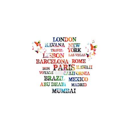 Touristic most famous destinations