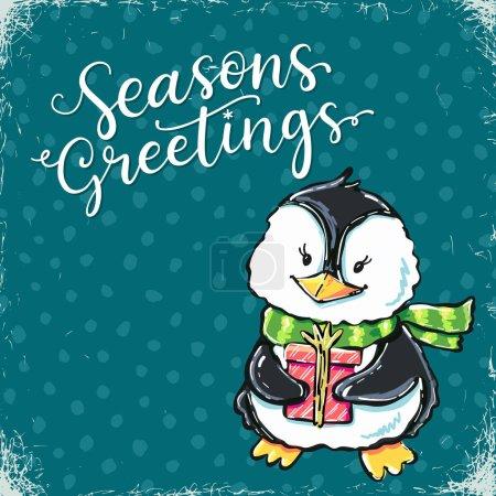 Christmas advent card