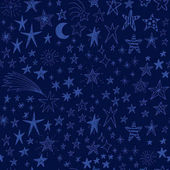 Cute background with funny stars
