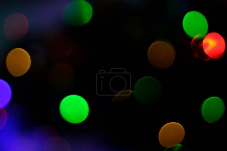 Christmas holidays bokeh abstract background.