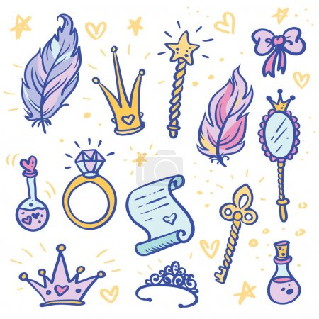 Princess elements set