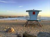 Lifeguard Booth at Ventura Beach