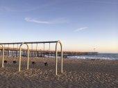 Childrens Outdoor Swings at Ventura Beach