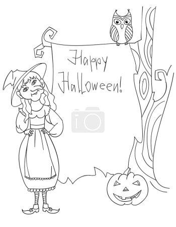 Halloween post card.