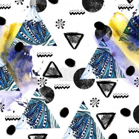 Fashion watercolor texture