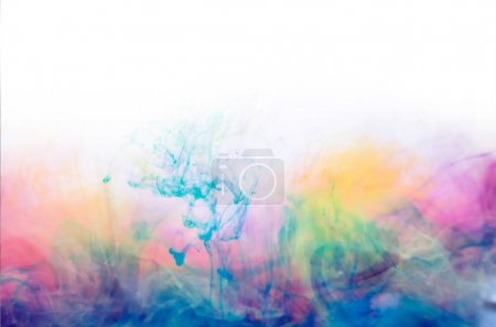bright mystic smoke, colorful ink wallpaper, abstract background