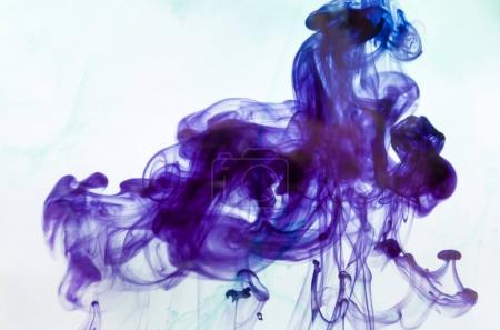 violet mystic smoke,  magic ink wallpaper, abstract background