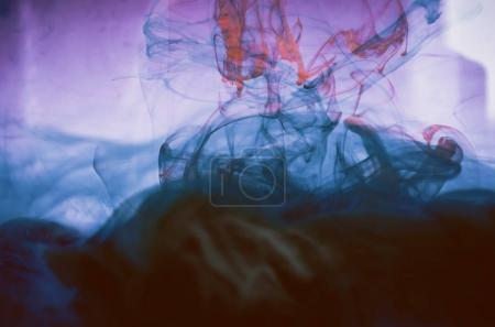 dark smoke, colorful ink wallpaper, abstract background