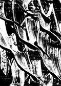 Black and white abstract watercolor texture Modern painting Avant-garde art Reminiscent of street graffiti Underground grunge Monochrome pattern Acrylic watercolor