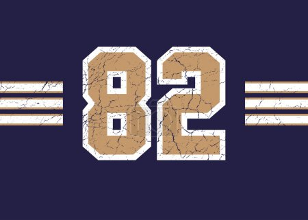 golden grunge 82 sport number
