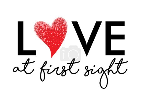 Love at first sight graphic