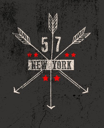 New York city graphic