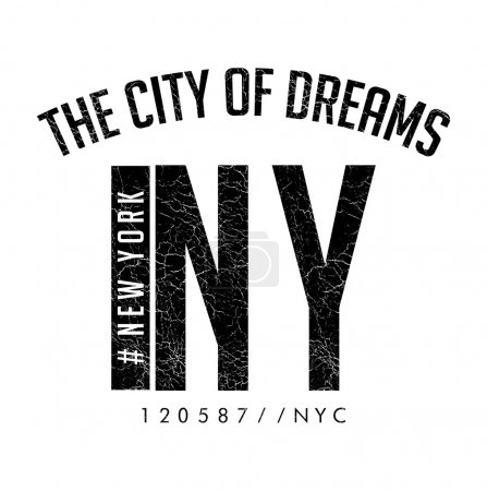 New York City print logo