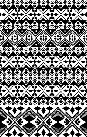 Seamless traditional ornament pattern