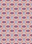 Abstract kaleidoscope style wallpaper pattern vector illustration