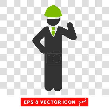 Engineer Eps Vector Icon
