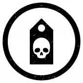 Smrti kupón zaoblené zrnitý ikonu