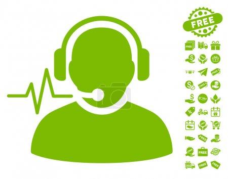 Operator Signal Icon With Free Bonus
