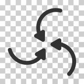 Vortex Arrows Vector Icon