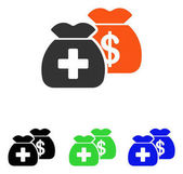 Health Care Funds Flat Vector Icon