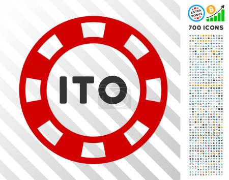 Ito Token Flat Icon with Bonus