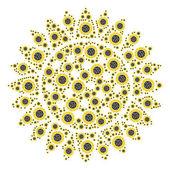 Sunflower Icon Collage