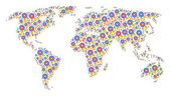 World Atlas Mosaic of Quality Items