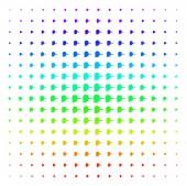 Lier Icon halftone Spectrum effect