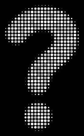 Question Halftone Icon