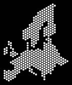 Honeycomb European Union Map