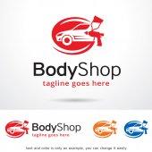 Body Shop Logo Template Design