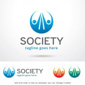 This design suitable for logo or icon Color and text can be changed easily