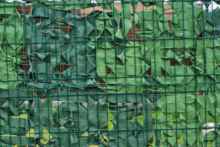 Army military camouflage green masking net background