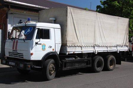 Российский спасательный грузовой автомобиль КамАЗ