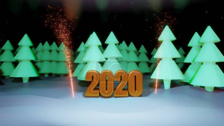 game background render beautiful christmas gold