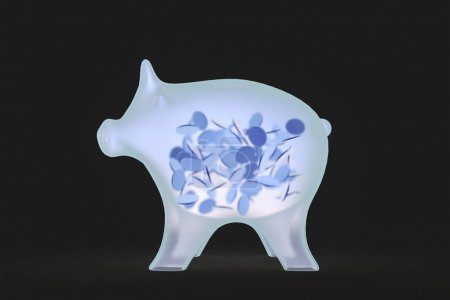 a pig is illuminated with x-rays