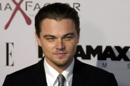 Photo for Actor Leonardo DiCaprio at the Los Angeles Premiere of The Aviator held at the Graumans Chinese Theatre in Hollywood, California, United States on December 1, 2004 - Royalty Free Image