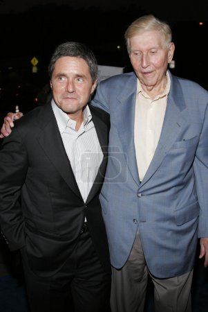Photo for Sumner Redstone, Brad Grey at the Los Angeles Premiere of The Last Kiss held at the Directors Guild of America in Hollywood, California, United States, September 13, 2006 - Royalty Free Image