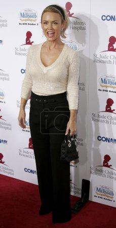 """Photo pour Kelly Carlson au """"Runway For Life"""" au profit du St. Jude Children's Research Hospital tenu au Beverly Hilton à Beverly Hills, États-Unis le 15 septembre 2006 . - image libre de droit"""