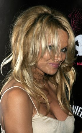Photo for Actress Pamela Anderson at the Rokbar Hollywood Launch Party in Hollywood, CALIFORNIA, June 30, 2005 - Royalty Free Image