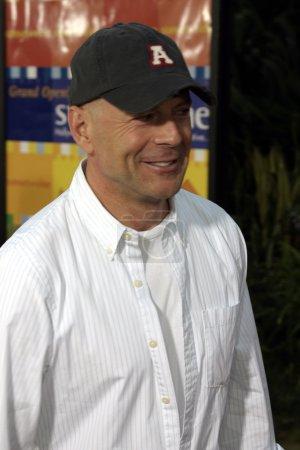 Poster: Actor Bruce Willis