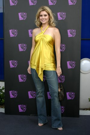 Photo for Actress JoAnna Garcia at The WB Networks 2004 All Star Party Red Carpet and Party at The Lounge At Astra West in Los Angeles, USA on July 14, 2004 - Royalty Free Image