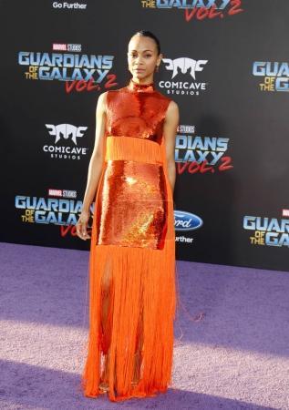 actress Zoe Saldana