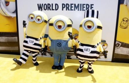 Minions at Despicable Me 3