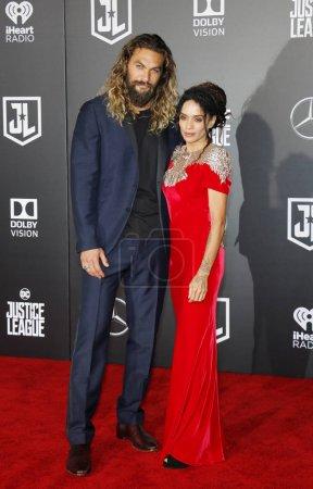actors Jason Momoa and Lisa