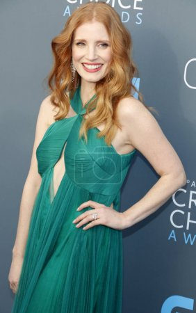 Actress Jessica Chastain at the 23rd Annual Critic...