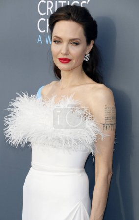 actress Angelina Jolie at the