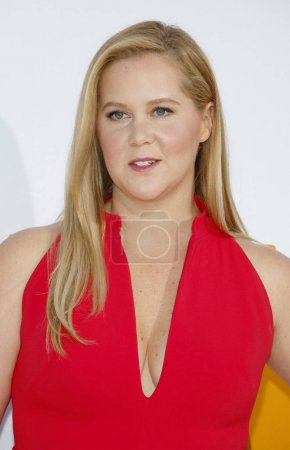 "Photo pour L'actrice Amy Schumer à la première de Los Angeles de ""I Feel Pretty"" au Regency Village Theatre à Westwood, États-Unis le avril 17, 2018 . - image libre de droit"